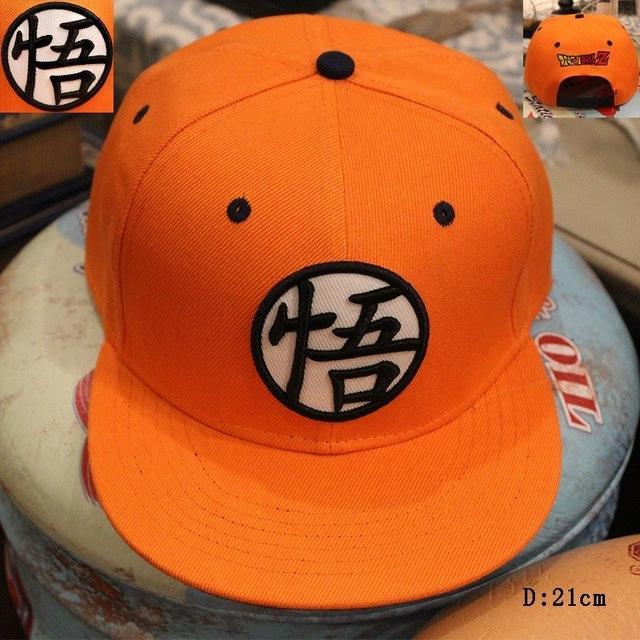 Dragon Ball Z Son Goku Adjustable Baseball Cap Hip Hop Snapback Hat Anime Gift