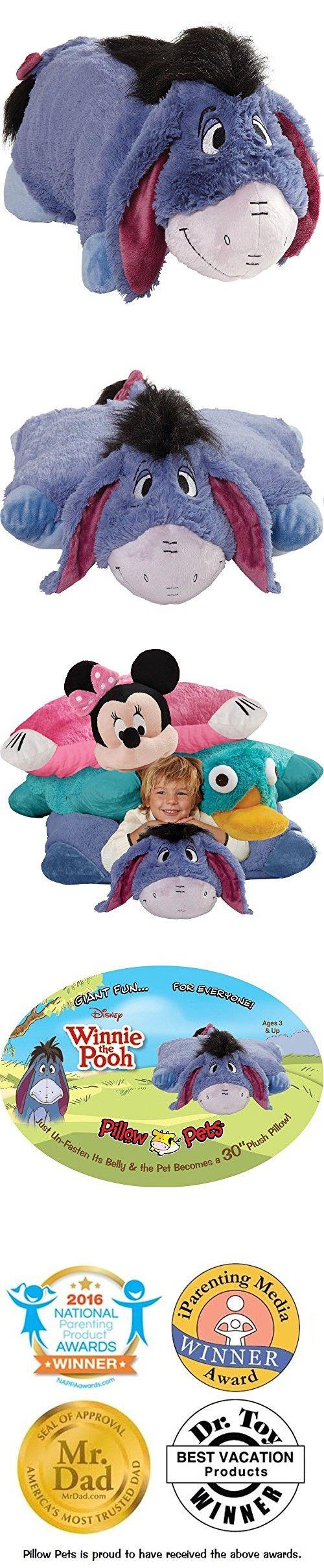 Pillow Pets Jumboz Disney Eeyore 30 Jumbo Folding Plush Pillow Animal Pillows Plush Pillows Oversized Stuffed Animals