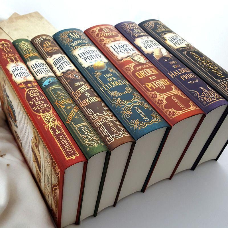 Der Magische Tag Ist Gekommen Heute Erscheinen Die Zauberhaften Neuausgaben Aller S Harry Potter Book Covers Harry Potter Pictures Harry Potter Fanfiction