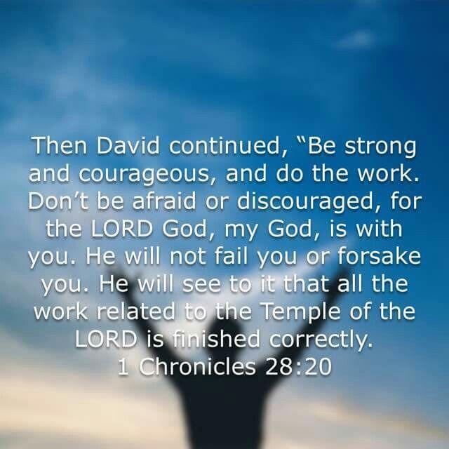 1Chronicles 28:20