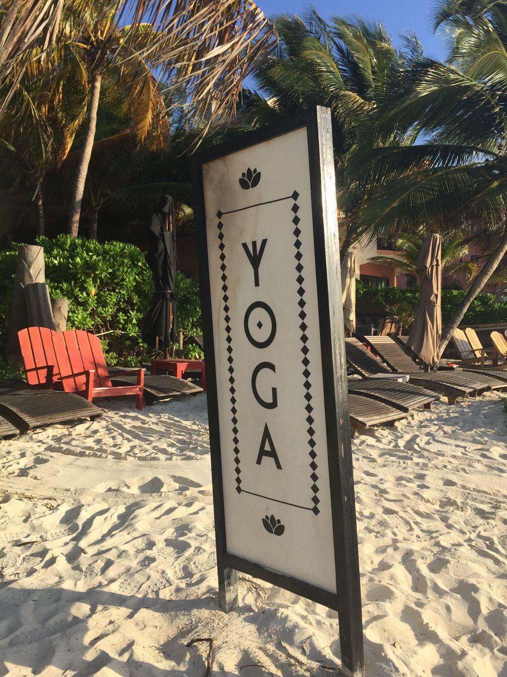 Yoga en Playa del Carmen