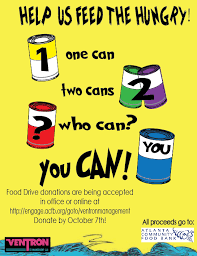 Ags Holiday Can Drive Food Pantry Donations Food Drive Flyer Food Drive