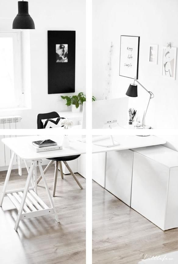 Small Home Office Furniture Ideas Decorating Small Office Space Home Workspace Ideas Home Office Design Office Design Home Office Decor
