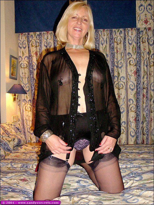 Oldies in pantyhose