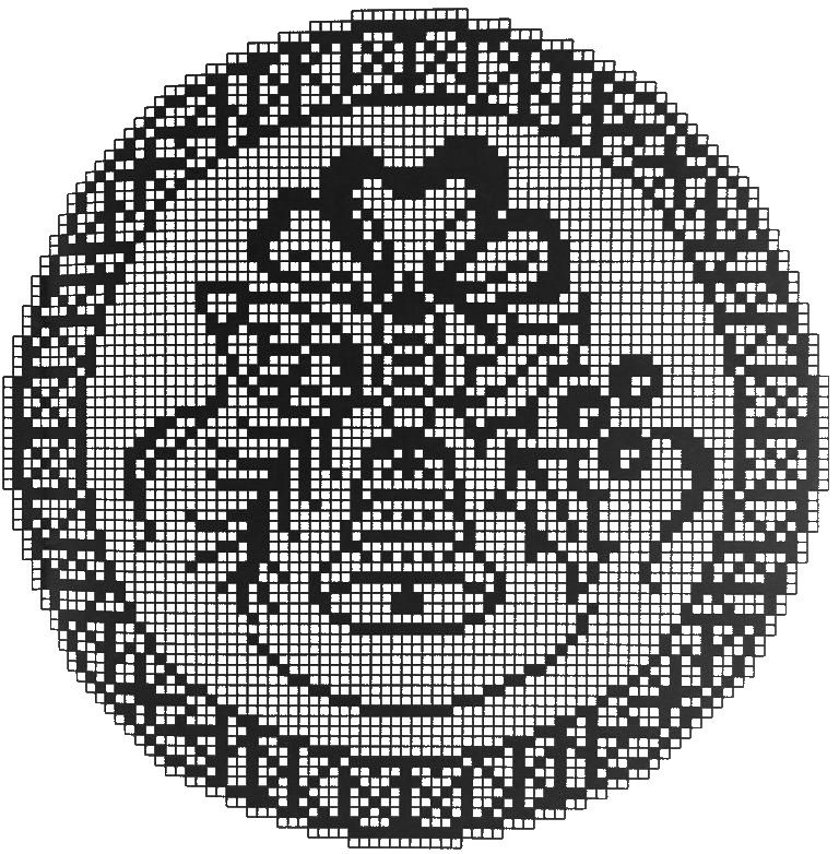 filet crochet patterns | punto croce | Pinterest | Weihnachtsglocken ...