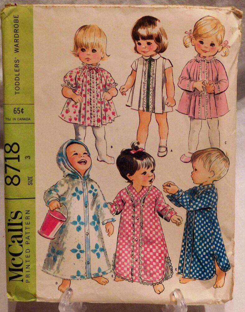 Pin von VintageToThrill Etsy auf Vintage sewing pattern | Pinterest