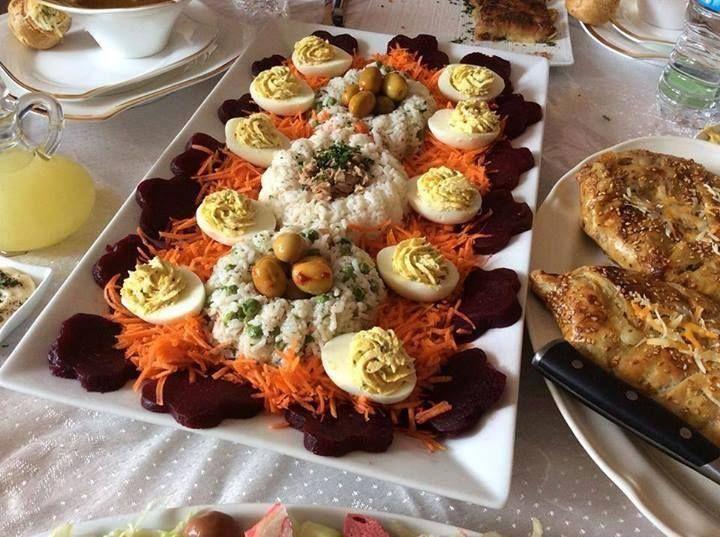 décoration salade | سلطات روعة Salata in 2019 | Food, Moroccan