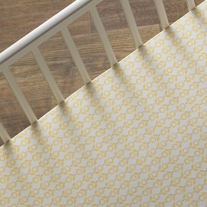 Saffron Elise Fitted Sheet Fitted Crib Sheet Crib