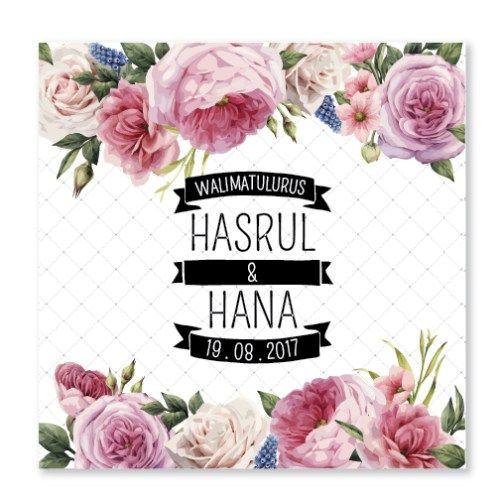 Kad Kahwin Floral 58 Chantiqs Kad Kahwin Kad Kahwin Wedding Cards Floral