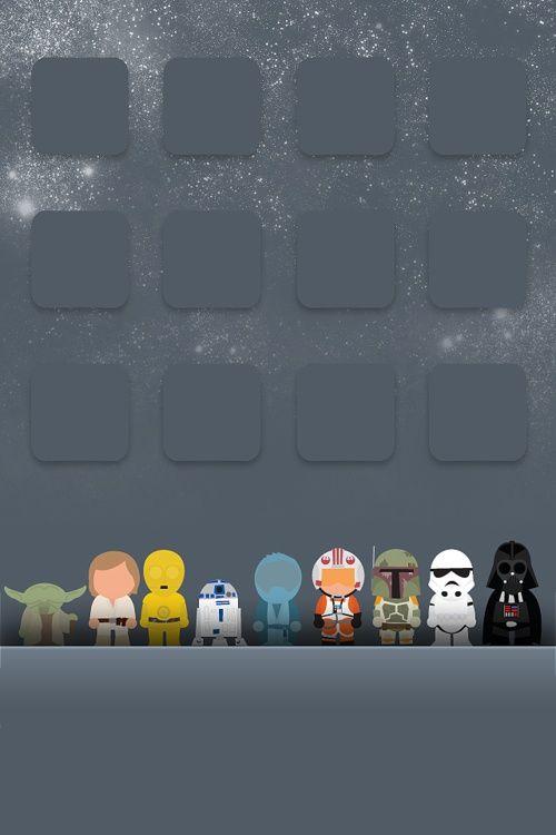 Igeek Star Wars Iphone Background Wordless Wednesday Fondos De