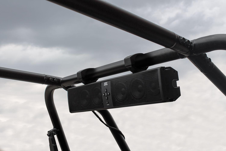 MUD6SPBT 6-Speaker Bluetooth UTV Sound Bar Installed