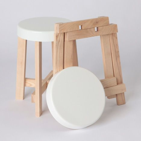 Spun stools by Hugh Leader-Williams | Mobiliario | Pinterest ...