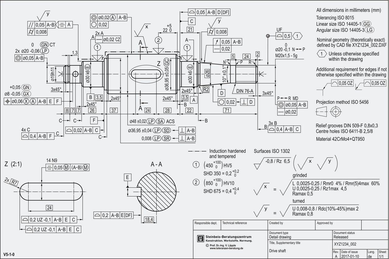 erstellung normgerechter technischer zeichnungen na rti za okras pinterest technische. Black Bedroom Furniture Sets. Home Design Ideas