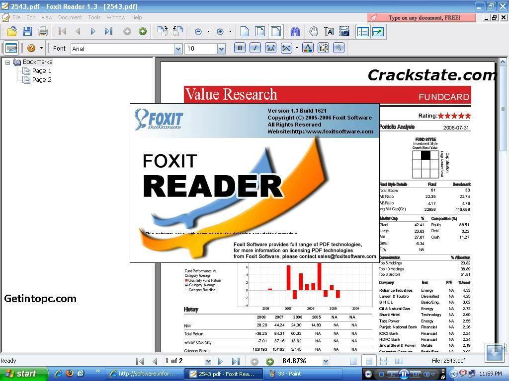 serial key foxit reader 6