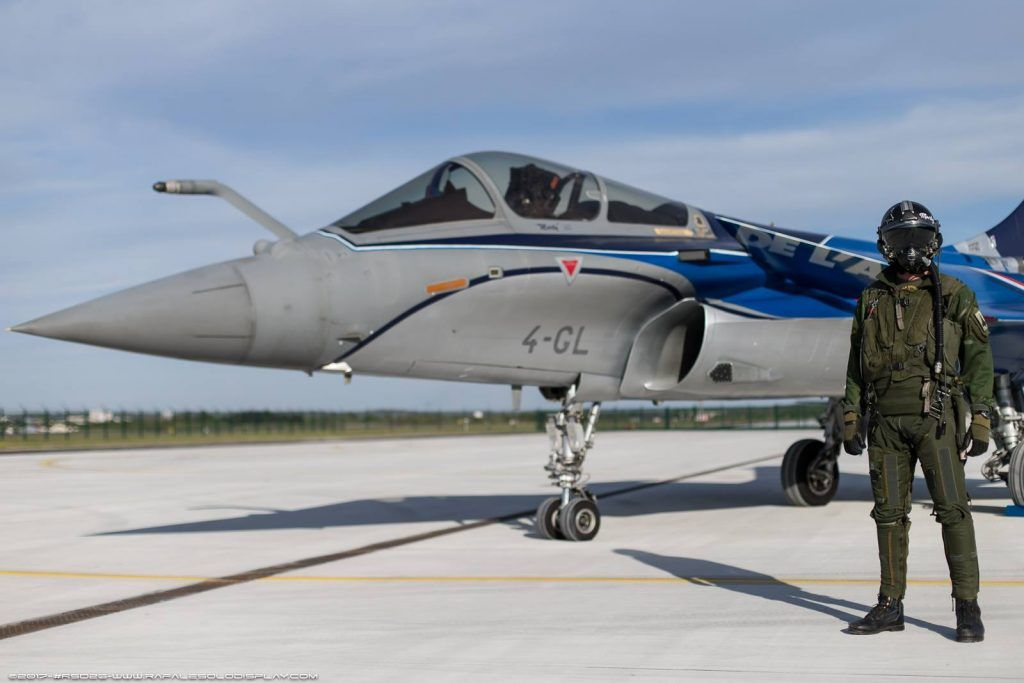 Rafale Solo Display – New Livery for season 2017 – Airshow News Feed
