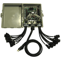 This Is The Ctb16pc Rtg Controller It Is Considered The Residential Controller And Has All Of The Same Christmas Light Displays Light Display Holiday Lights