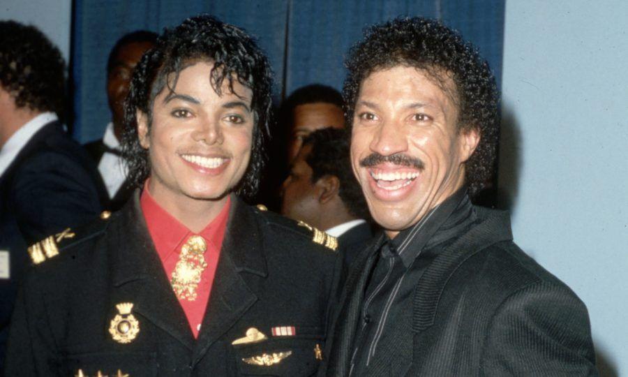 Resultado de imagem para Lionel Richie e michael jackson
