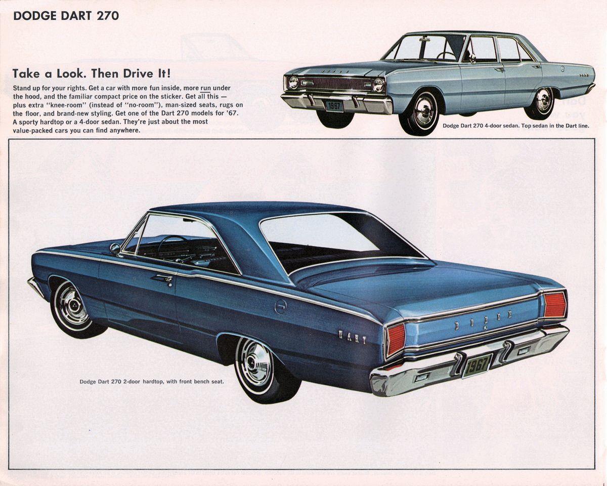 1967 dodge dart 2 and 4 door sedans posters pinterest dodge dart dodge and sedans