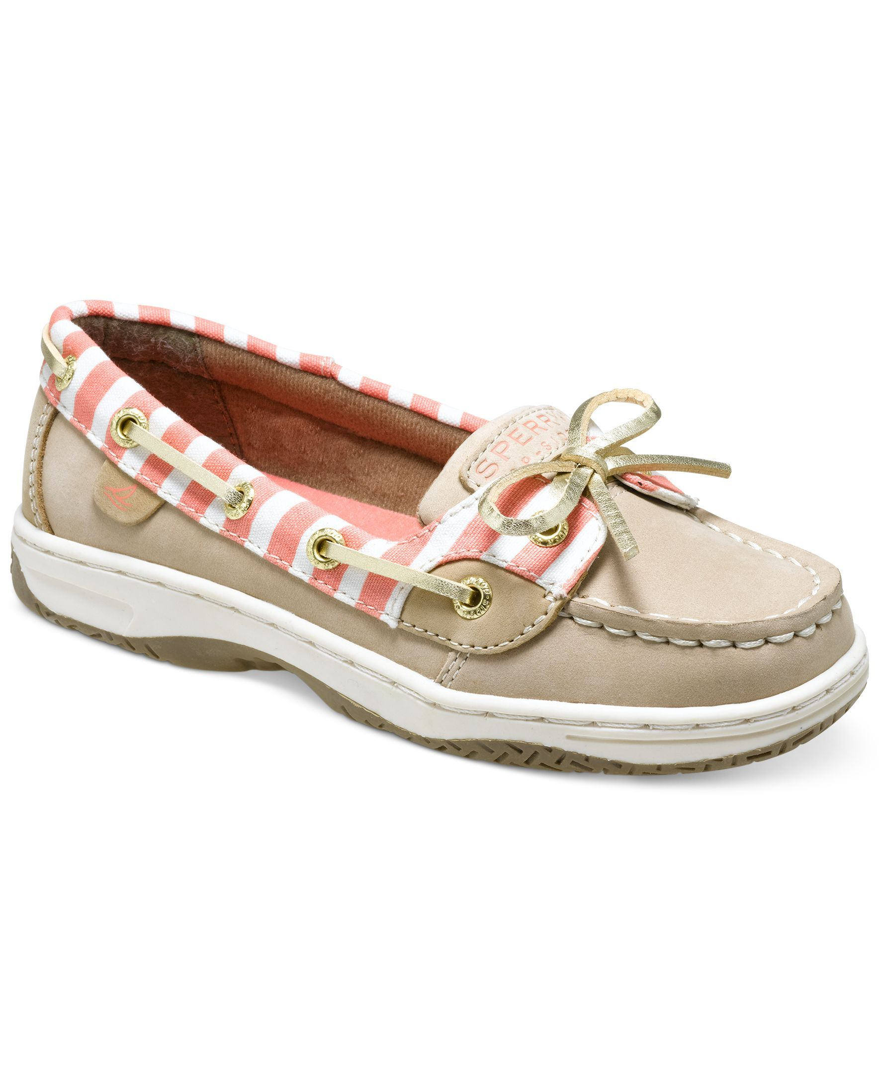 Sperry Top Sider Girls or Little Girls Angelfish Boat Shoes