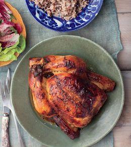Buttermilk brined slow cooker chicken