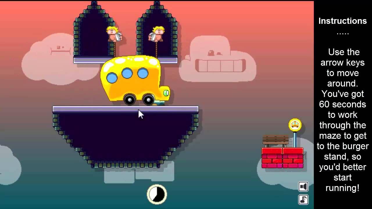 60 second burger run cool math games | Free online games