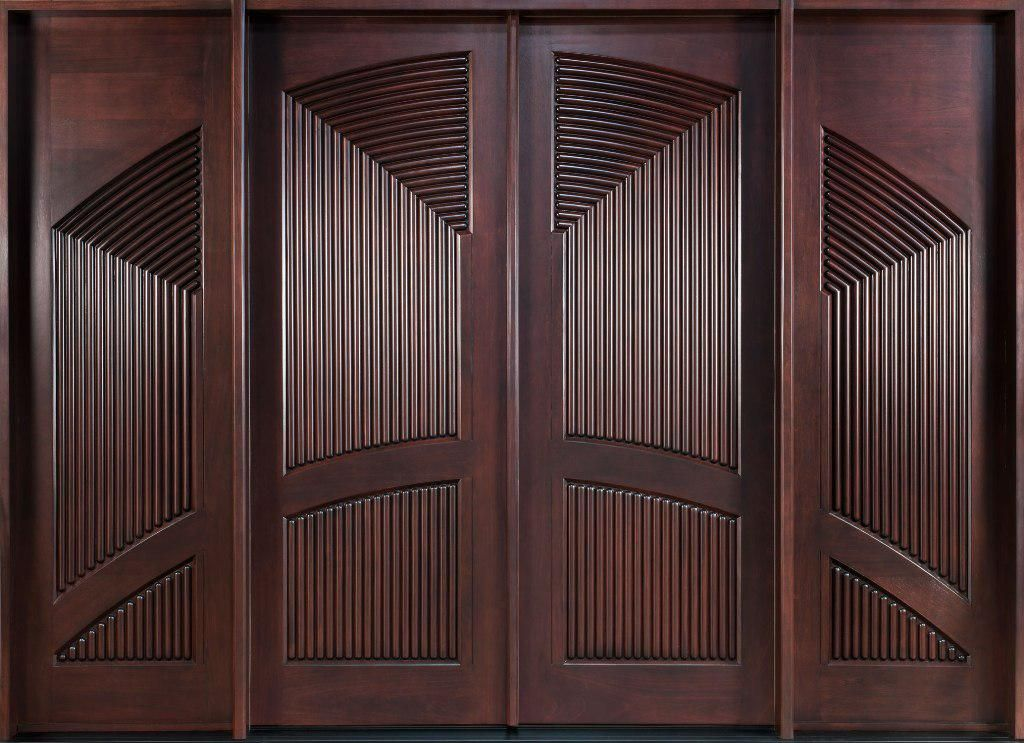 Wood Panel Doors The Home Depot Design In 2020 Wood Exterior
