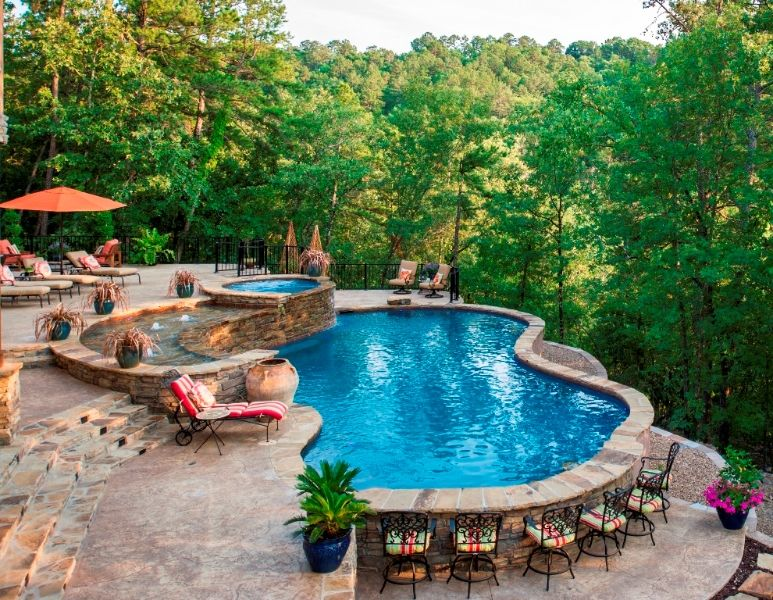 Multilevel pool oasis who needs to book a vacation when