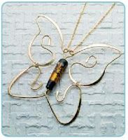 How To Make Butterfly Jewelry Tutorials ~ The Beading Gem's Journal
