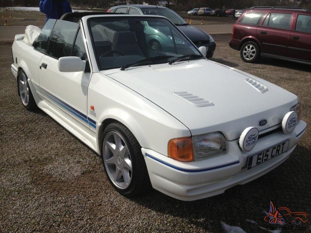 Pin On Ford Escort Xr3i Rs Turbos