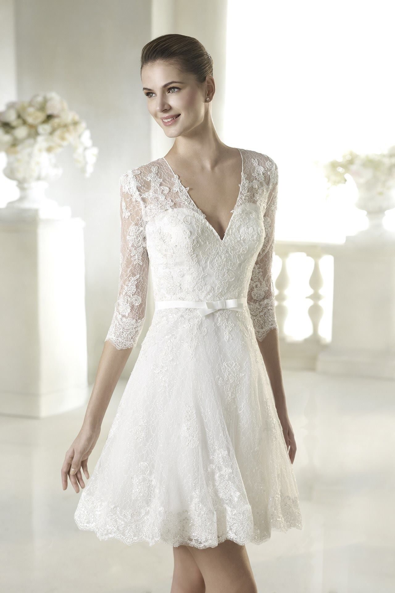 reception or after party dress  Wedding IdeasAttire  Pinterest
