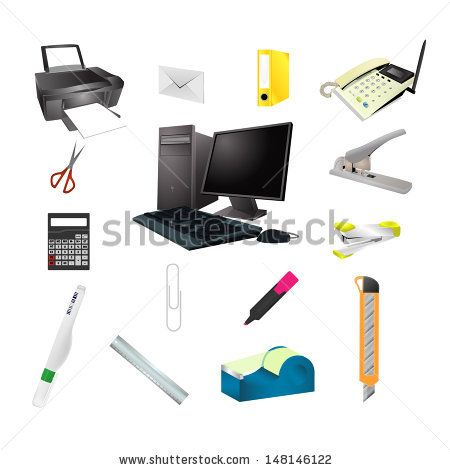 Office tools realistic icon vector set pc, pen, web, set, file, tool, icon, case, clip, blue, book, white, fluid, mouse, black, ruler, knife, paper, yellow, vector, symbol, orange, modern, cutter, folder, design, marker, pencil, office, screen, scenner, scanner, stapler, printer, isolated, document, business, internet, notebook, computer, keyboard, scissors, telephone, equipment, technology, protractor, collection, calculator, correction, illustration
