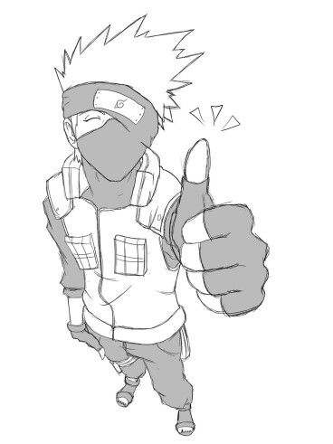 Kakashi thumbs up