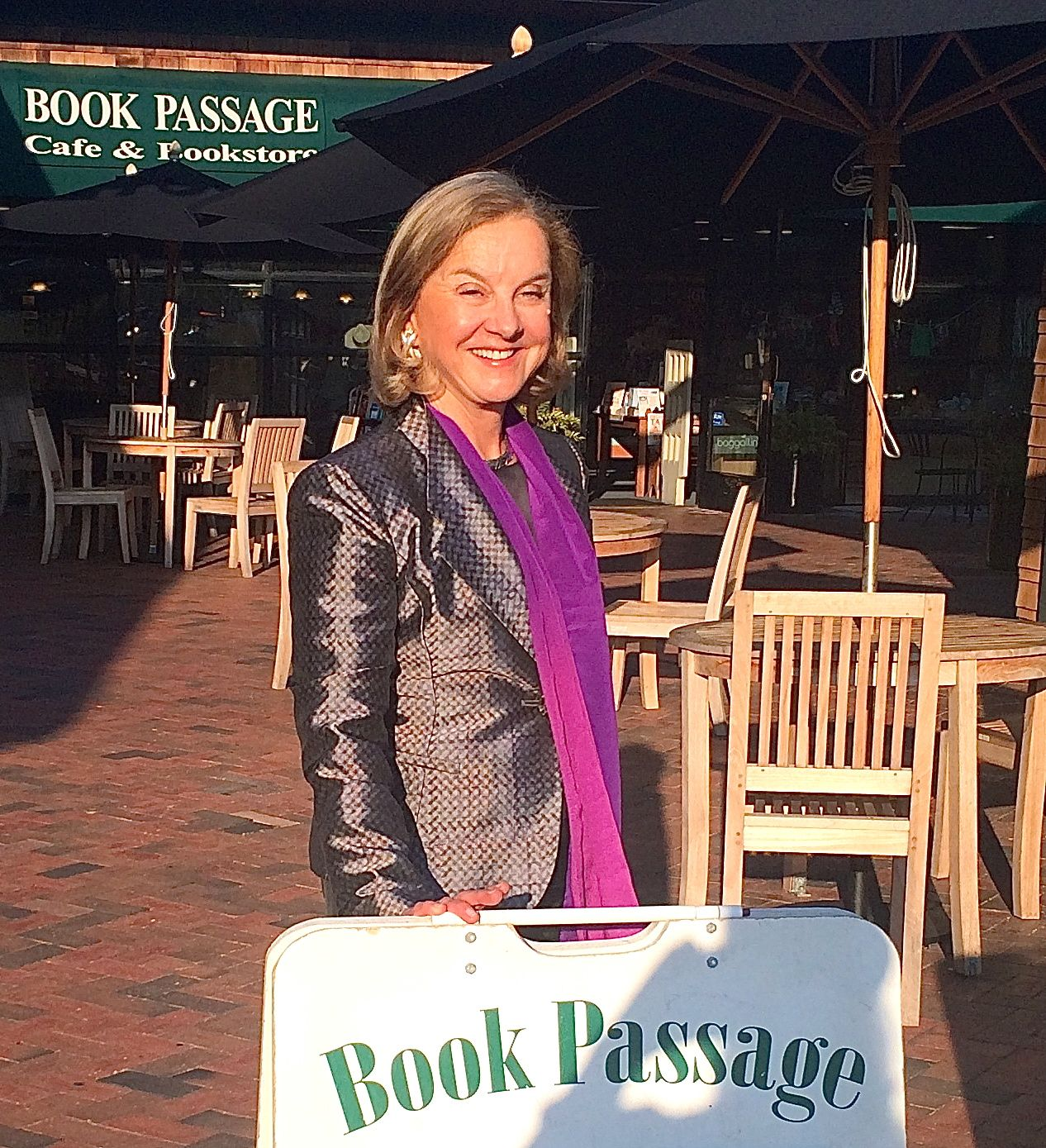 Great  to see old pals and Facebook friends at Book Passage reading!