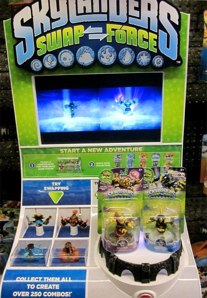 Skylanders Swap Force Release Day Displays At My Local Toys R Us