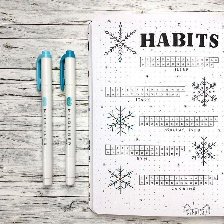 Bullet Journal Tracker Designs You Must Try | Heraldeecreates