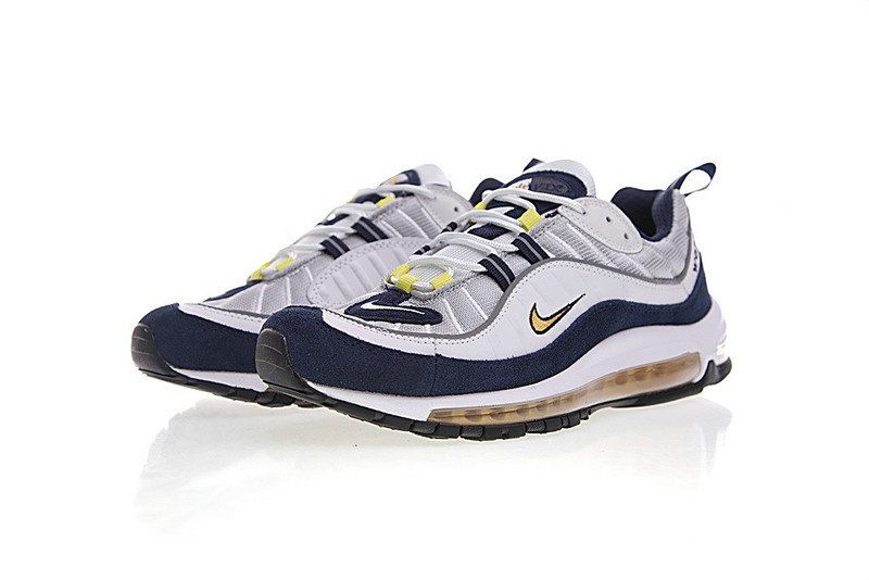 026b738fab6cf2 Durable Modeling Nike Air Max OG 98 Gundam Wolf Grey Tour Yellow White  Midnight Navy 640744-004 Mens Running Shoes Sneakers