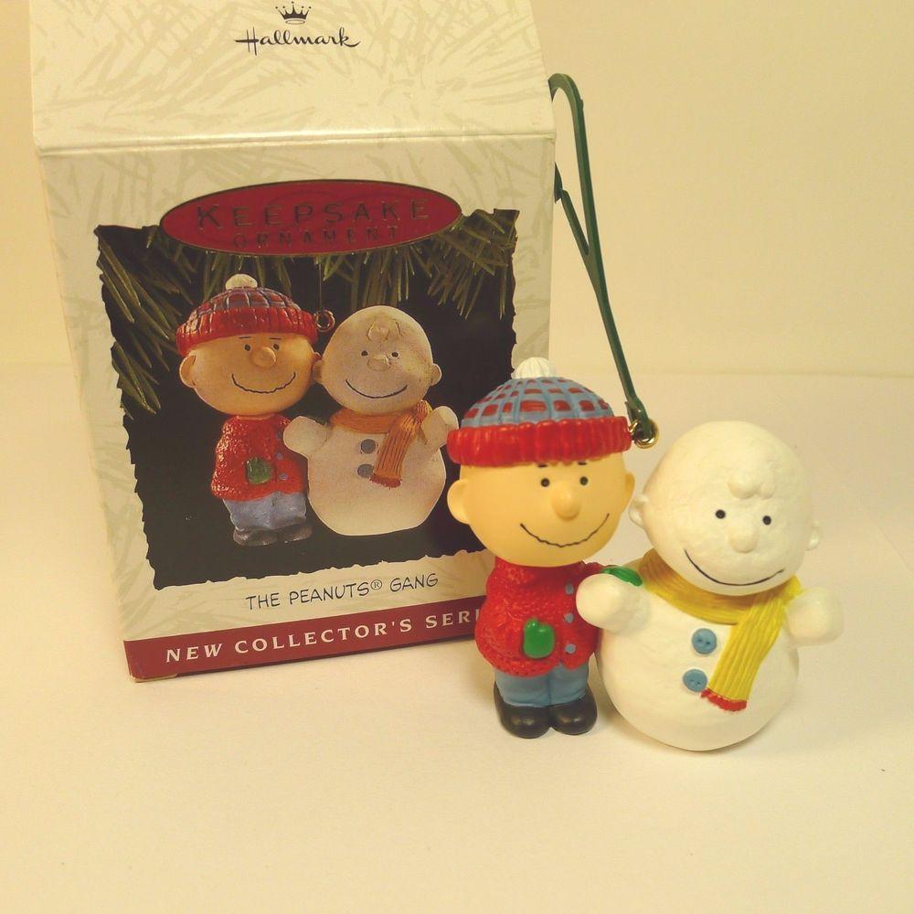 Snoopy Christmas Tree Topper: Hallmark Peanuts Gang Christmas Ornament Linus Charlie