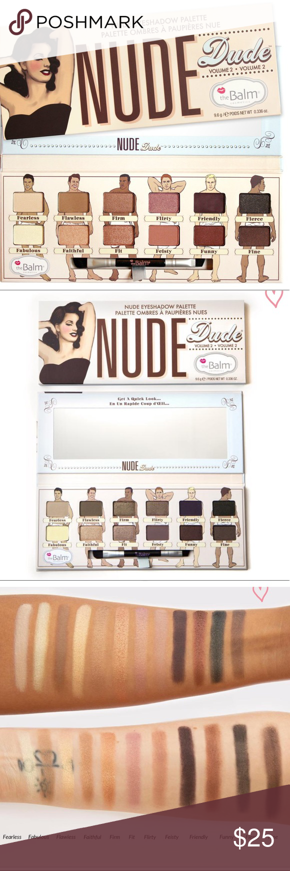 Shop theBalm NUDE dude Eyeshadow Palette - Free Shipping
