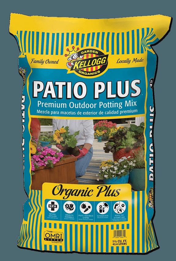 Kellogg Garden Organics Patio Plus Premium Outdoor Potting