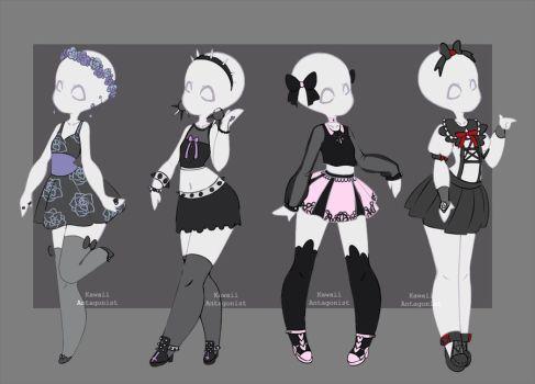 deviantart more like gachapon outfits 18 by kawaii