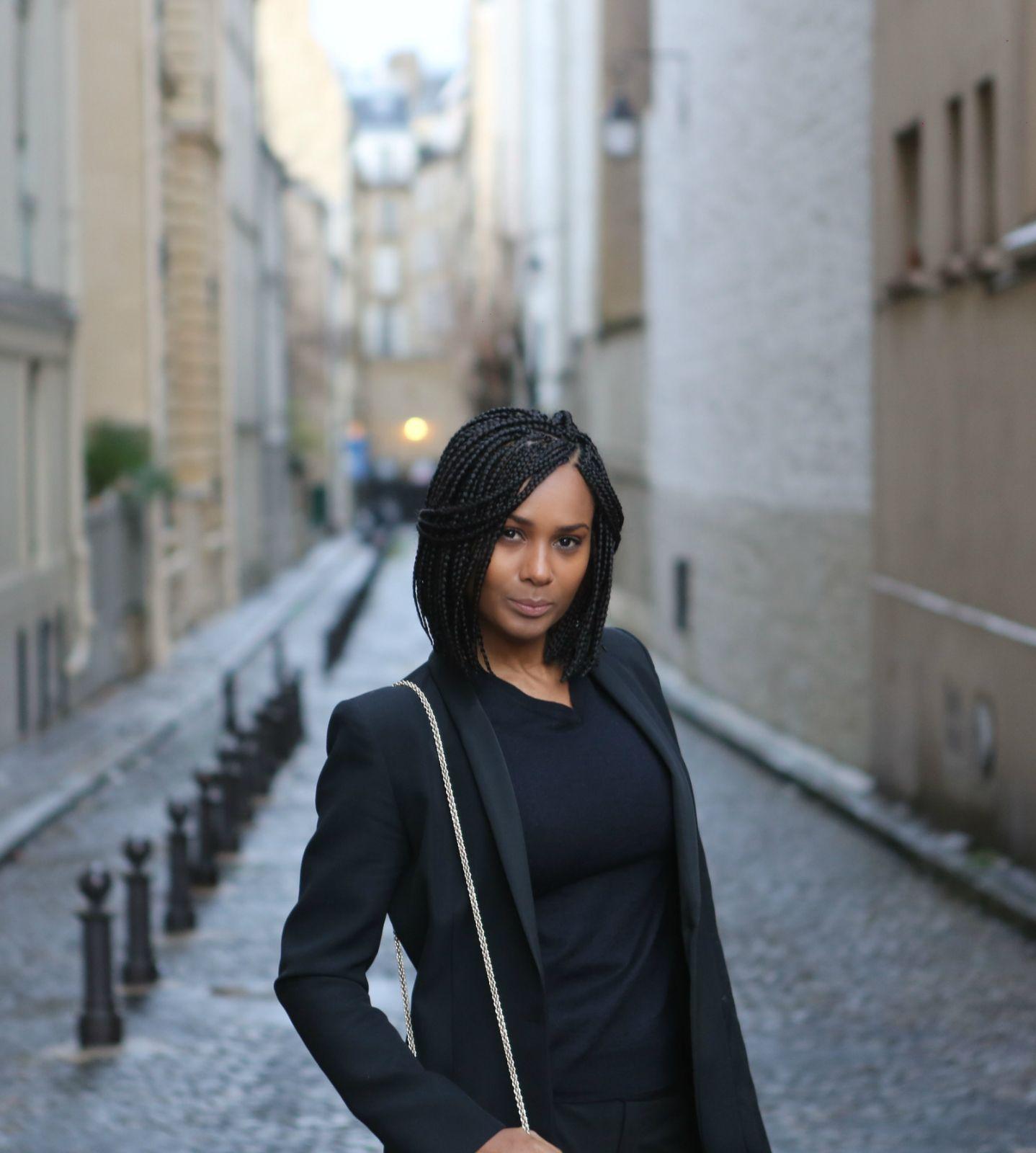 Salon afro à Paris Cheveux tressés, Tresses de fille