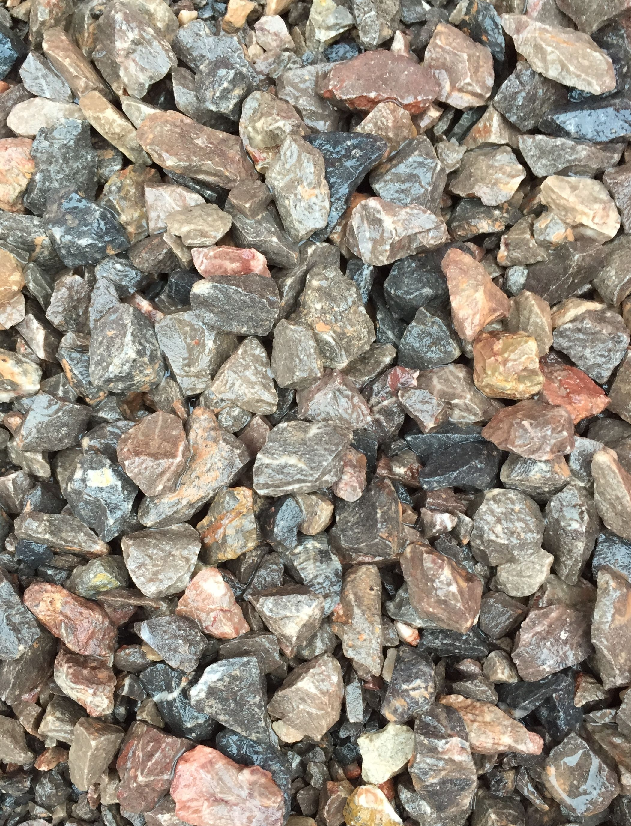 20 5mm Limestone Chippings As Seen When Wet Decorative Gravel Limestone 5mm