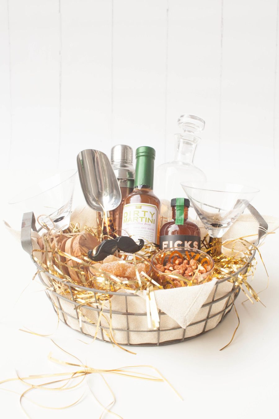 Personalized Gift Baskets from HomeGoods Liquor gift
