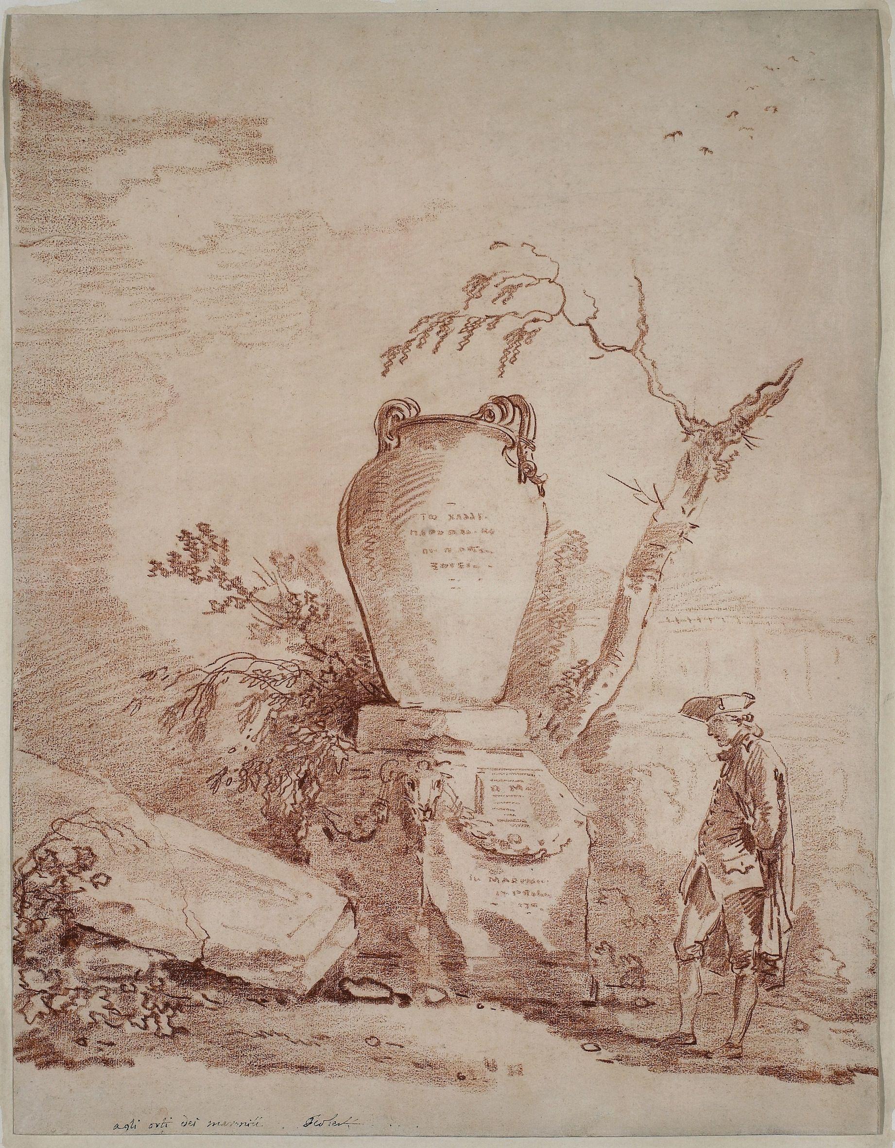 Hubert Robert (France, 1733–1808) | NGC Magazine MBAC | Pinterest ...