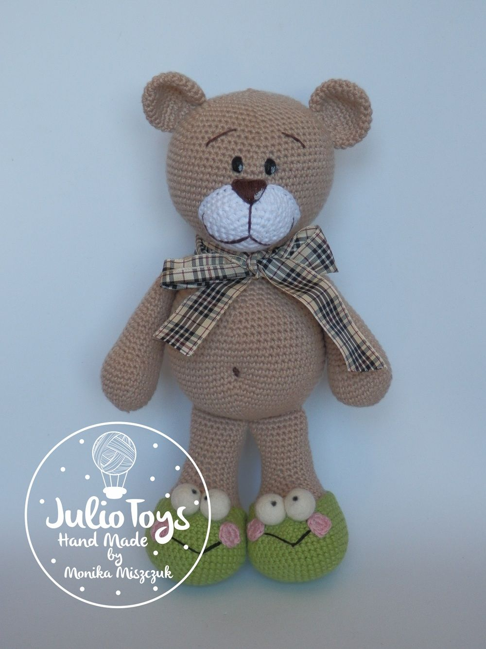 El Clasico teddy bear - crochet PDF pattern | Bären, Häkeltiere und Süß