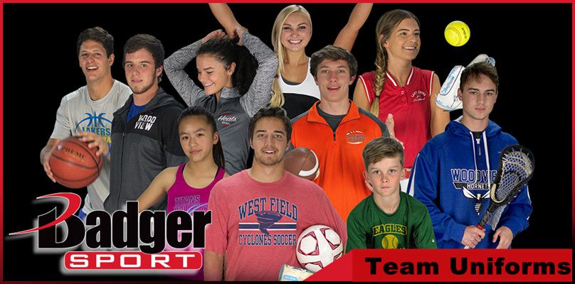 Team Uniforms from Badger Sportswear from NYFifth
