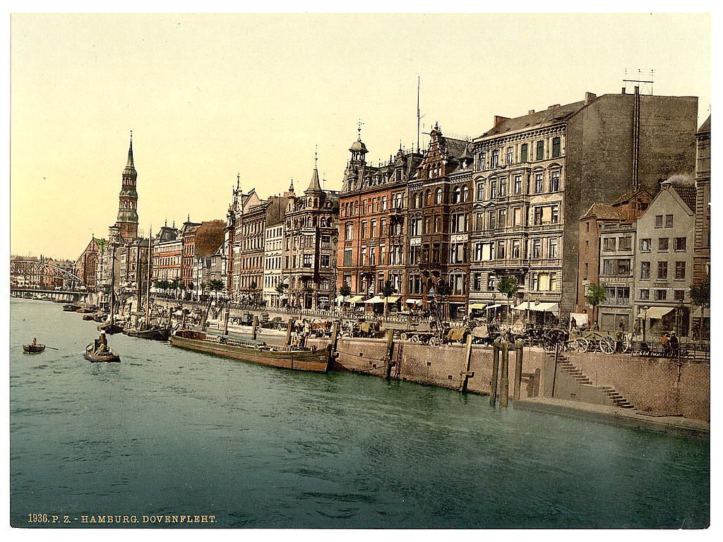 Germany At The End Of The 19th Century Before Wwii Historical Photos Hamburg Germany Germany Germany Travel