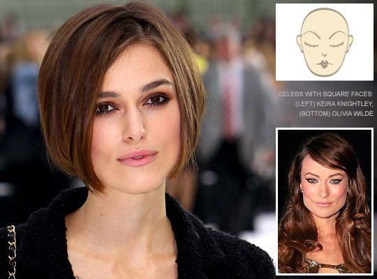 Hairstyles For Square Face Shapes Square Face Hairstyles Hair Styles Square Face Shape