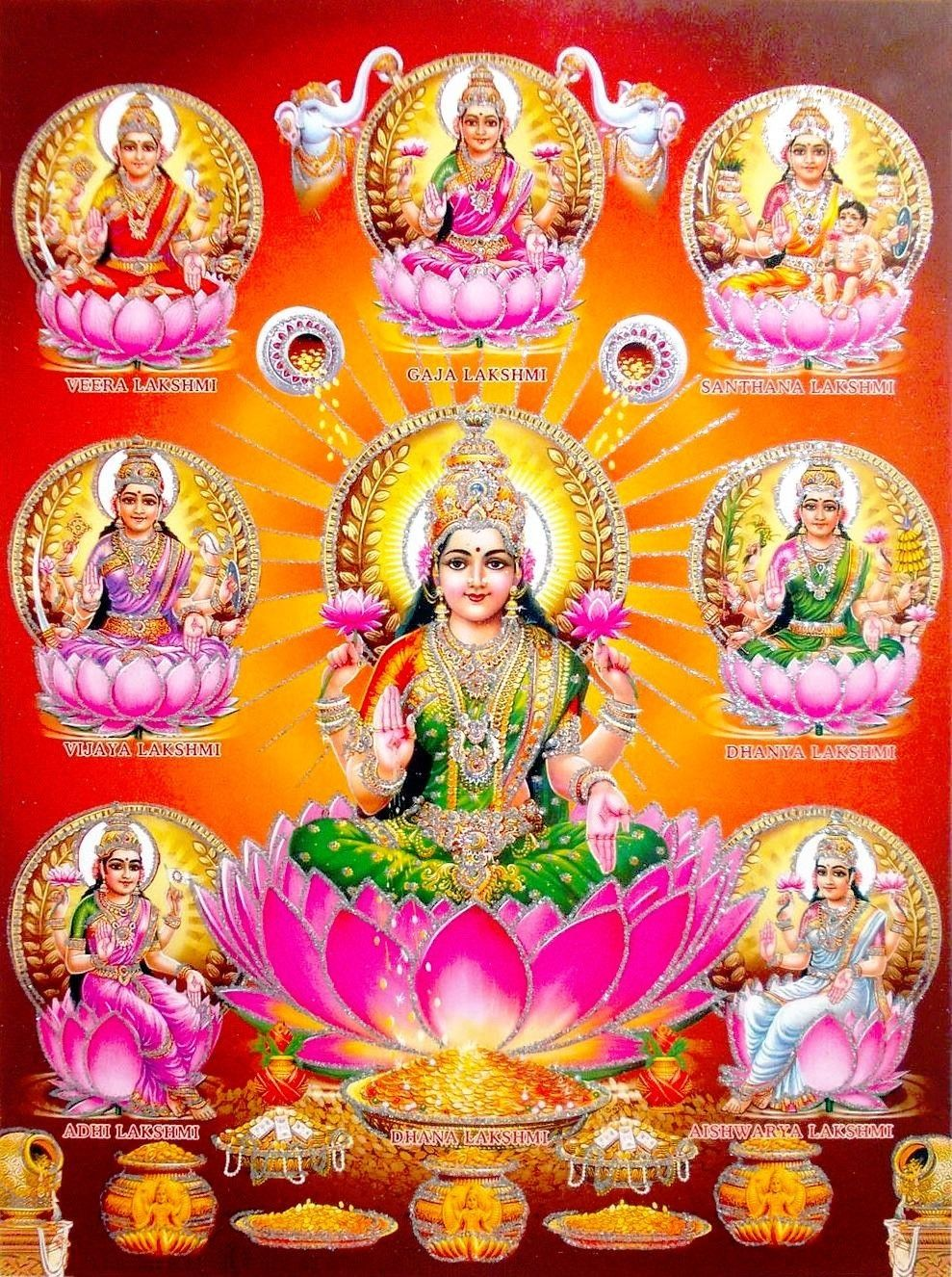 10++ What are the 8 forms of lakshmi ideas in 2021