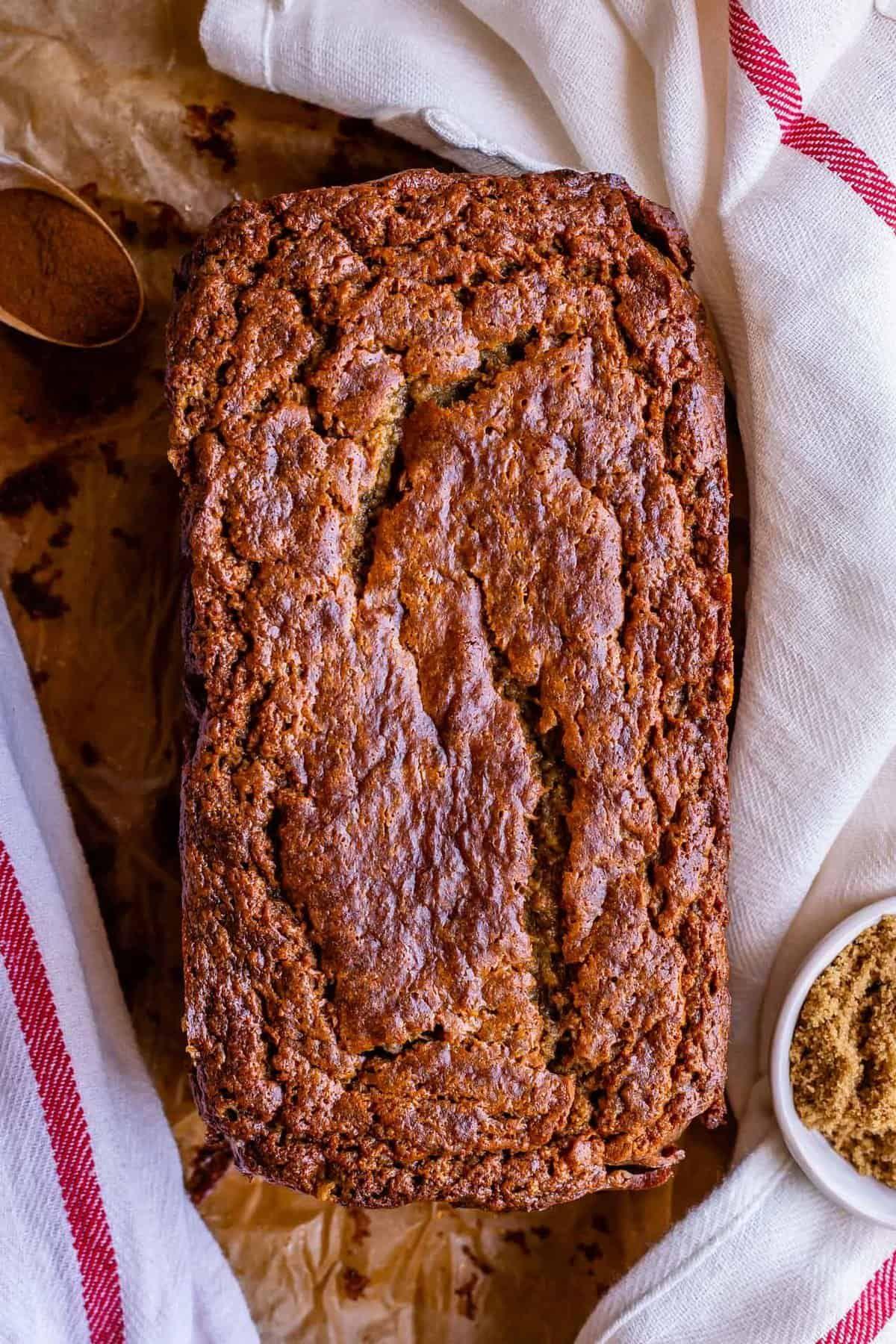 Moist Banana Bread With Sour Cream From The Food Charlatan The Moist Banana Bread R In 2020 Moist Banana Bread Banana Bread Recipe Easy Moist Super Moist Banana Bread
